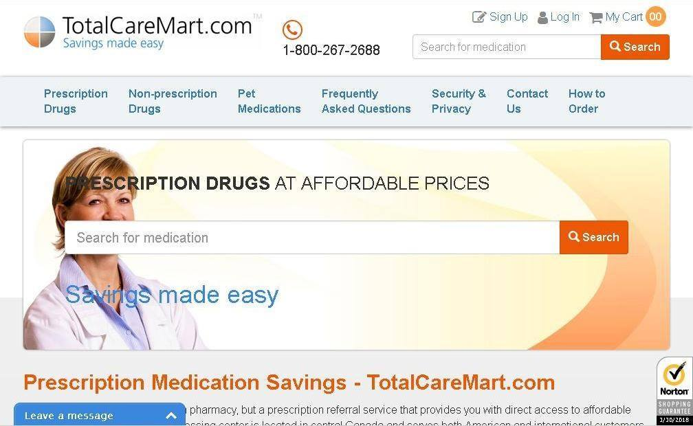 Total Care Mart - Pharmacy with More Than Ten Thousand Satisfied Customers Under the Belt